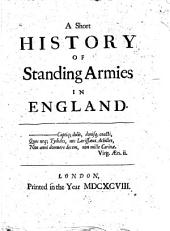 A Short History of Standing Armies in England