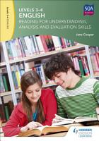 Levels 3 4 English  Reading for Understanding  Analysis and Evaluation Skills PDF
