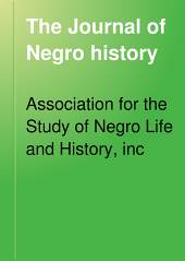 The Journal of Negro History: Volume 4