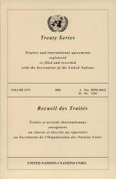 Treaty Series 2179 /2002