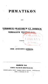 Rhēmatikon: sive, Verborum graecorum et nominum verbalium technologia