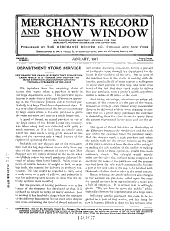 Merchants Record and Show Window: Volumes 40-41