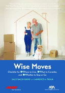 Wise Moves Book