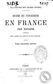 Guide du voyageur en France par Richard