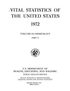 Vital Statistics of the United States