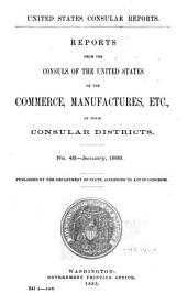 Consular Reports: Commerce, Manufactures, Etc, Volume 15