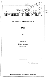 Annual Reports of the Department of the Interior ...: Volume 2