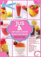 Jus & Infused Water Buah-buahan: Ampuh Tumpas Penyakit, Awet Muda dan Langsing