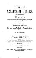 Life of Archbishop Hughes PDF