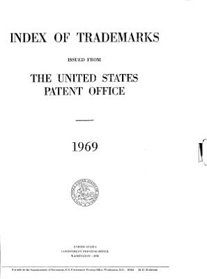 Index of Trade marks Issued from the United States Patent Office PDF