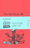 Moleskin Toy Story Limited Edition Notebook  Large Ruled Geran Red