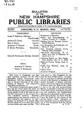 New Hampshire Public Libraries PDF