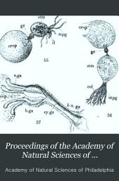 Proceedings of the Academy of Natural Sciences of Philadelphia: Volume 33