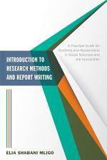 Introduction to Research Methods and Report Writing