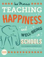 Teaching Happiness and Well Being in Schools  Second edition PDF