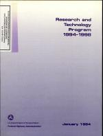Federal Highway Administration Research and Technology Program, 1994-1998