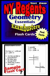 NY Regents Geometry Test Prep Review--Exambusters Flashcards: New York Regents Exam Study Guide