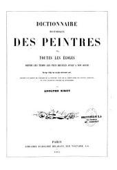 Dictionnaire historique des peintres de toutes les écoles