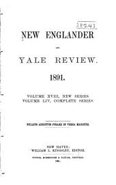 New Englander and Yale Review: Volume 54