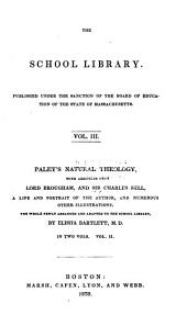 Paley's Natural Theology: Volume 2