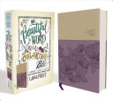 NIV  Beautiful Word Coloring Bible  Large Print  Imitation Leather  Purple Tan