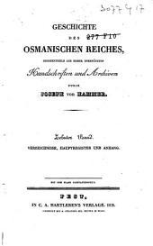 Geschichte des Osmanischen Reiches: Band 10