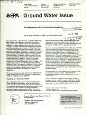 Fundamentals of ground-water modeling