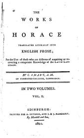 The Works of Horace: Volume 2