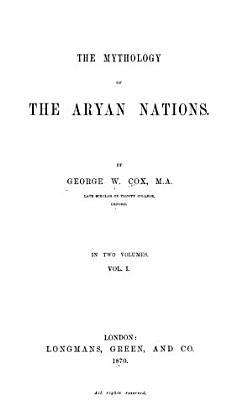 The Mythology of the Aryan Nations PDF