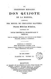 El Ingenioso hidalgo don Quijote de la Mancha,2