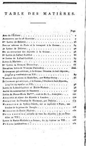 Anecdotes secrètes sur le 18 fructidor, et nouveaux mémoires des déportés à la Guiane, écrits par eux-même, et faisant suite au journal de Ramel