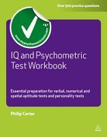 IQ and Psychometric Test Workbook PDF