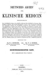 Deutsches archiv fuer klinische medizin: Band 39