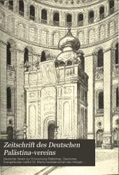 Zeitschrift des Deutschen Palästina-Vereins: Bände 19-21