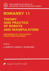ROMANSY 11: Theory and Practice of Robots and Manipulators