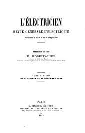 L'Electricien: Volume6