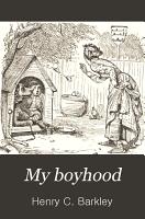 My Boyhood PDF