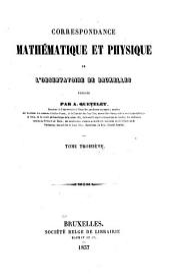 Correspondance mathématique et physique: Volume9