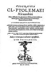 Geographia: gewidmet Kardinal Aloysius Cornelius, Volume 0