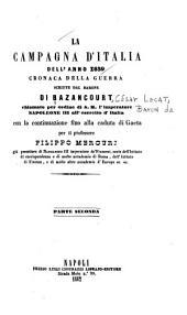La campagna d'Italia dell'anno 1859: cronache della guerra, Volume 2