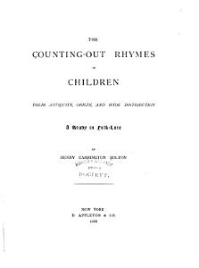 The Counting out Rhymes of Children PDF