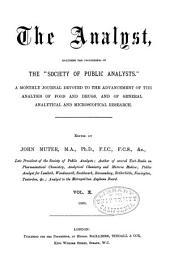 The Analyst: Volume 10