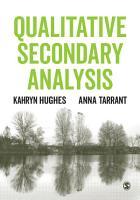 Qualitative Secondary Analysis PDF
