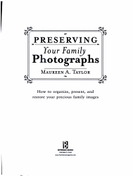 Preserving Your Family Photographs Book PDF