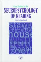 Case Studies in the Neuropsychology of Reading PDF