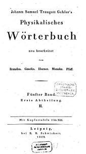 Physikalisches Wörterbuch: H. 5,1