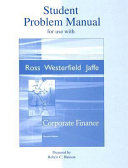 Student Problem Manual for Use with Corporate Finance PDF