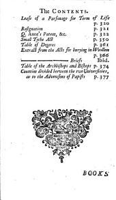 The Clergyman's Vade-mecum: Volume 1