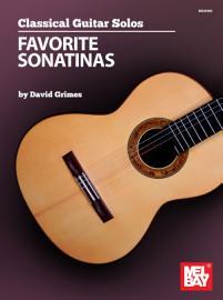 Classical Guitar Solos   Favorite Sonatinas PDF