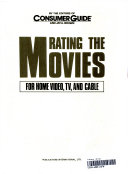Rating the Movies for Home Video  TV  and Cable PDF